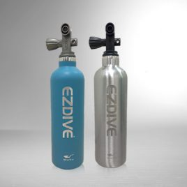 Water Bottle – Blue/Silver