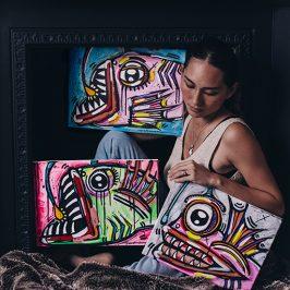 Visual Art  – Interview with Jade Hoksbergen